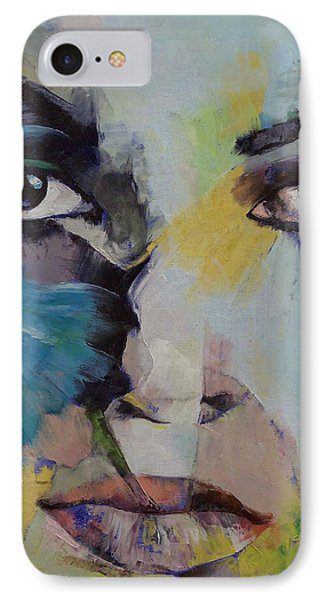 The Firebird IPhone Case by Michael Creese