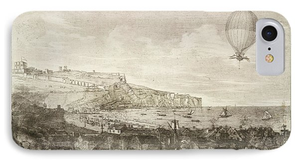 The First Airbourne English Channel Cross IPhone Case by British Library