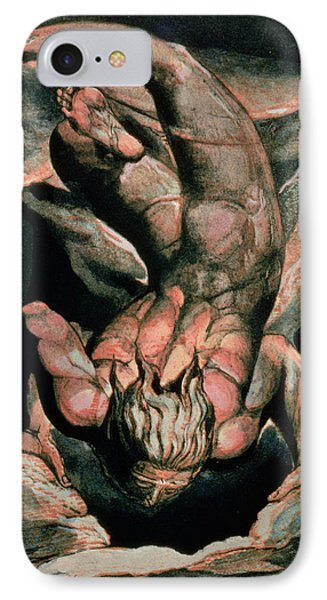 The First Book Of Urizen Phone Case by William Blake