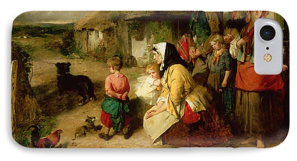 The First Break In The Family IPhone Case by Thomas Faed