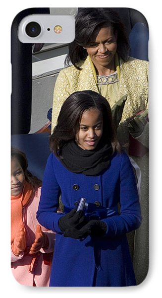 The First Lady And Daughters Phone Case by JP Tripp