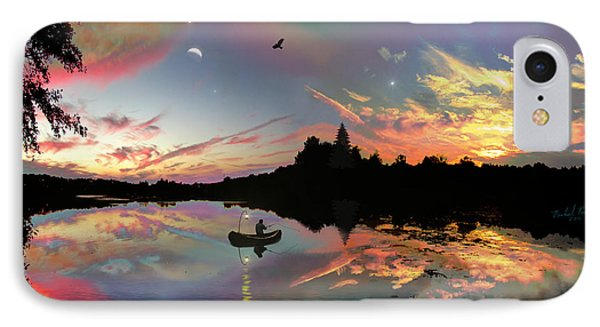 The Fisherman IPhone Case by Michael Rucker