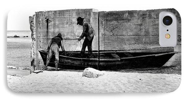 The Fishermen And The Sea... Phone Case by Chiara Corsaro