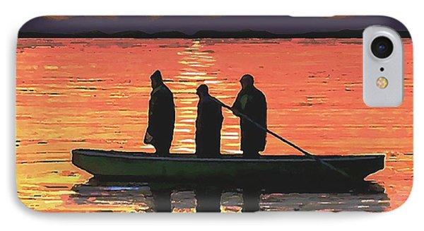 The Fishermen IPhone Case by Sophia Schmierer
