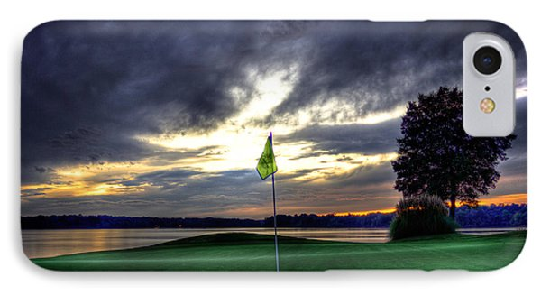The Flag On Number 4 IPhone Case by Reid Callaway