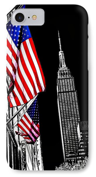 The Flag That Built An Empire IPhone Case by Az Jackson
