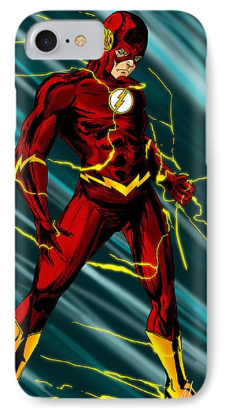 The Flash IPhone Case by Alexiss Jaimes