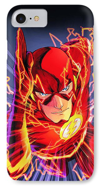 The Flash IPhone Case by FHT Designs