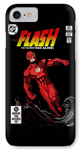 The Flash IPhone Case by Mark Rogan