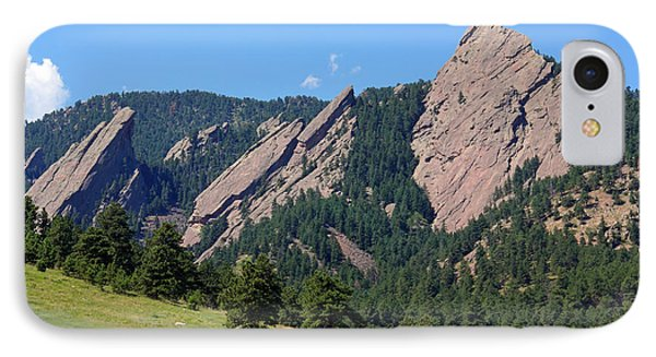 The Flatirons IPhone Case by Bob Hislop