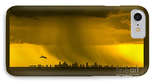 The Floating City  IPhone Case by Marvin Spates