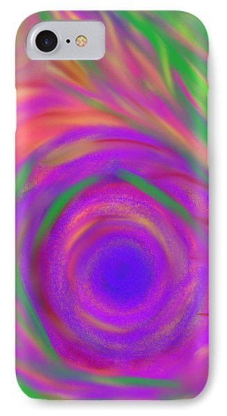 The Flora Is Breathing IPhone Case by Daina White