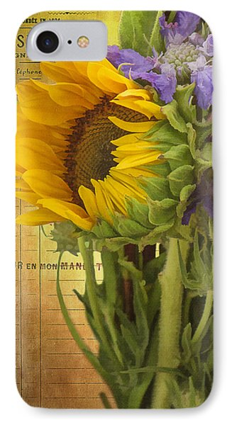 IPhone Case featuring the photograph The Flower Market by Priscilla Burgers