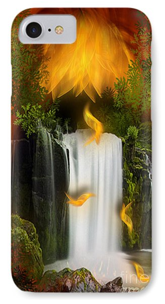 The Flower Of Joy - Fantasy Art By Giada Rossi IPhone Case by Giada Rossi