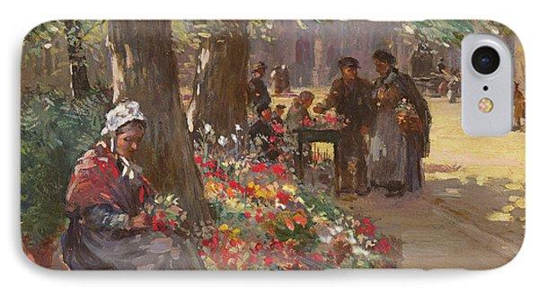 The Flower Seller IPhone Case