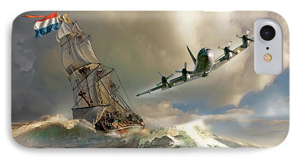 The Flying Dutchman IPhone Case by Peter Van Stigt