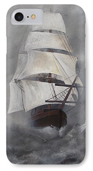 The Flying Dutchman IPhone Case by Virginia Coyle