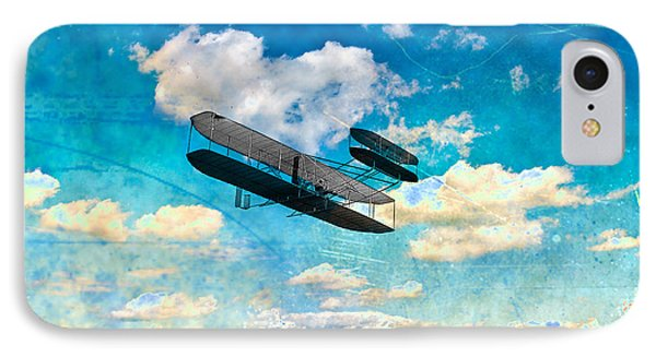 The Flying Machine Phone Case by Bill Cannon