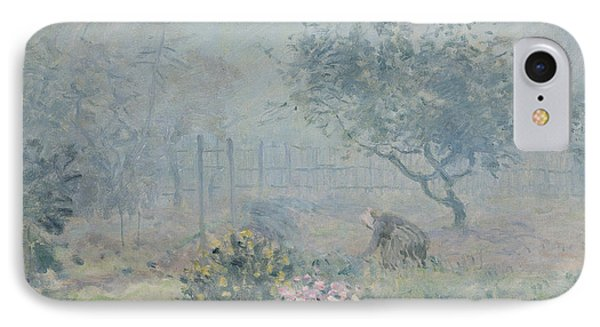 The Fog, Voisins, 1874 IPhone Case by Alfred Sisley