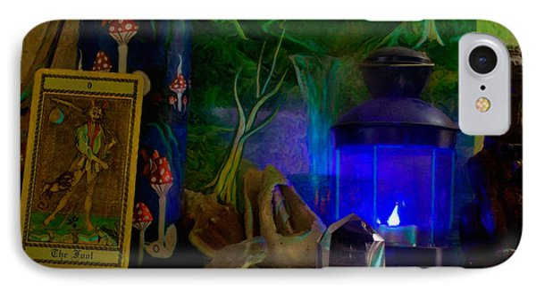 IPhone Case featuring the painting The Fool by Michael Cleere