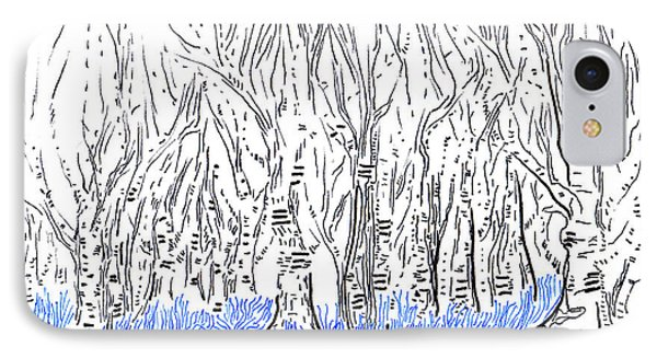 The Forest For The Trees An Aceo Phone Case by Regina Valluzzi