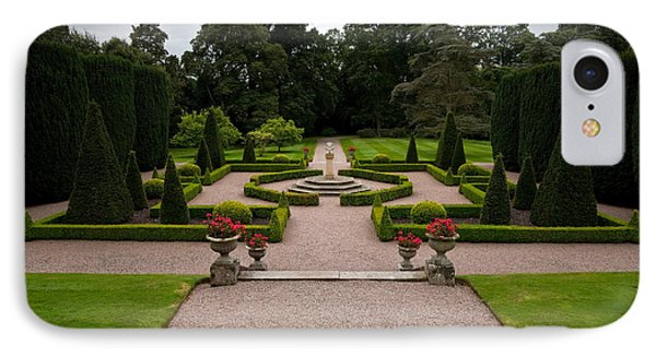 The Formal Gardens In Hillsborough IPhone Case by Panoramic Images