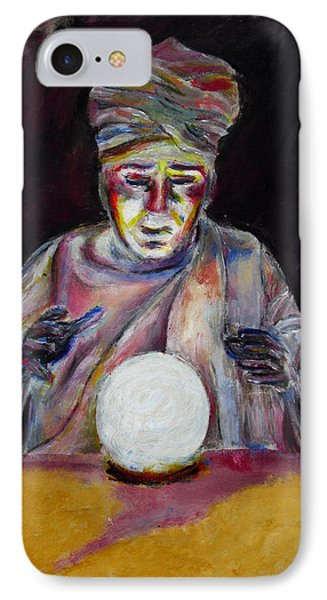 The Fortune Teller IPhone Case by Tom Conway