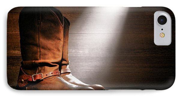The Found Boots Phone Case by Olivier Le Queinec