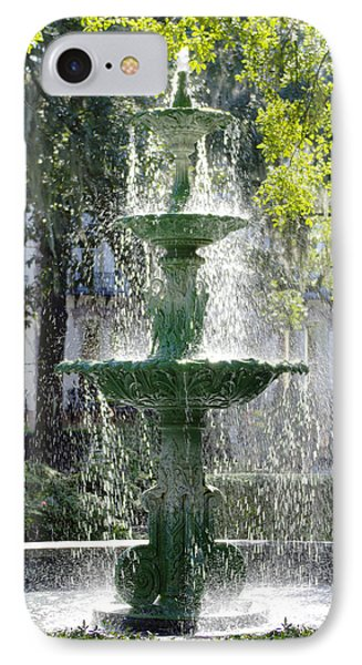 The Fountain IPhone Case by Mike McGlothlen