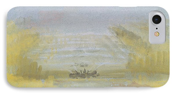The Fountains At Versailles IPhone Case by Joseph Mallord William Turner