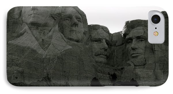 The Four Presidents IPhone Case by KD Johnson