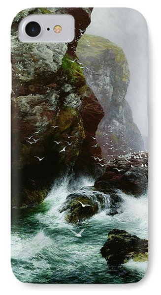 The Fowlers Crag IPhone Case by Peter Graham