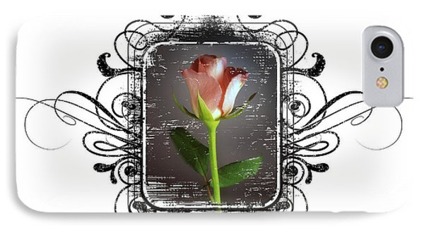 The Framed Rose Phone Case by Mauro Celotti