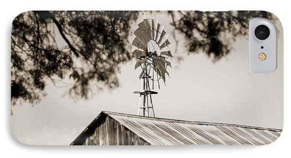 IPhone Case featuring the photograph The Framed Windmill by Amber Kresge