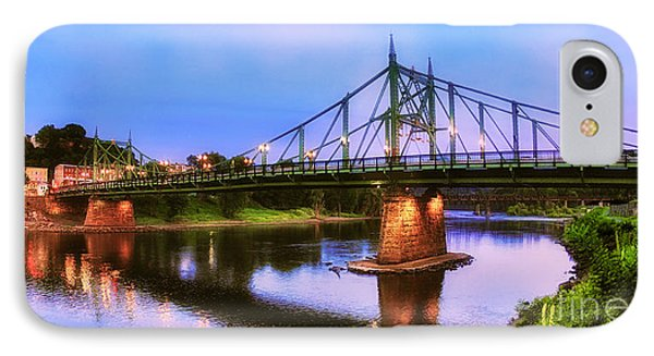The Free Bridge IPhone Case by Mark Miller