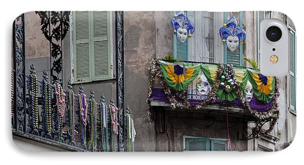 The French Quarter During Mardi Gras Phone Case by Mountain Dreams