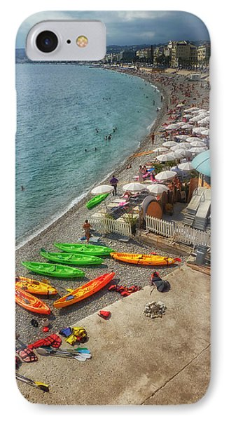 IPhone Case featuring the photograph The French Riviera by Kim Andelkovic