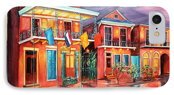 The Frenchmen Hotel New Orleans Phone Case by Diane Millsap