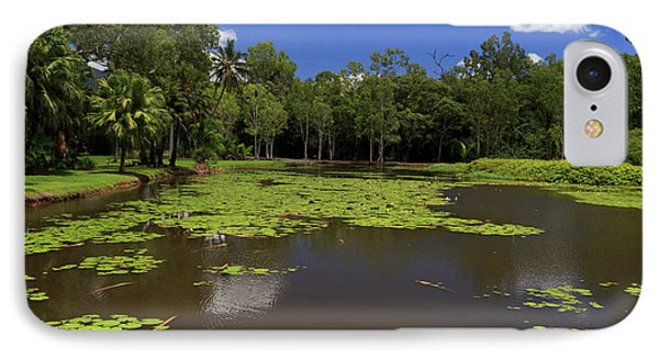 Far North Queensland iPhone 7 Case - The Fresh Water Lake Section by Paul Dymond