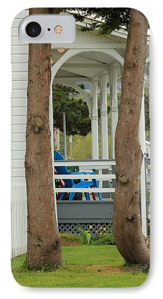 IPhone Case featuring the photograph The Front Porch by E Faithe Lester