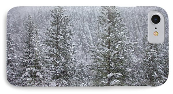 The Frozen Forest IPhone Case by Darren  White