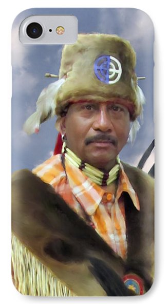 IPhone Case featuring the digital art The Fur Turban by Spyder Webb