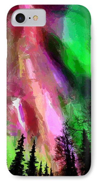 IPhone Case featuring the painting The Future by Georgi Dimitrov