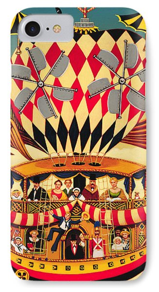 The Future Of The Transatlantic Flight IPhone Case by Frances Broomfield