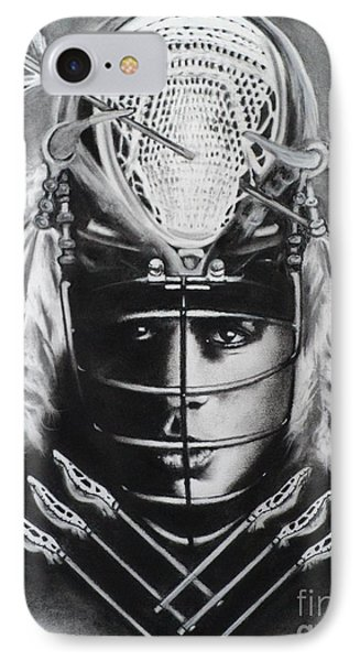 The Game Of Lacrosse  Phone Case by Carla Carson