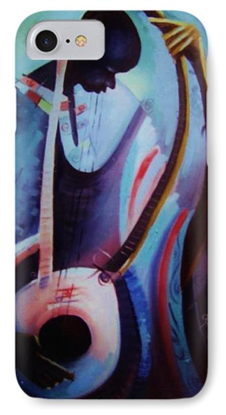 IPhone Case featuring the painting The Garaya II by Oyoroko Ken ochuko