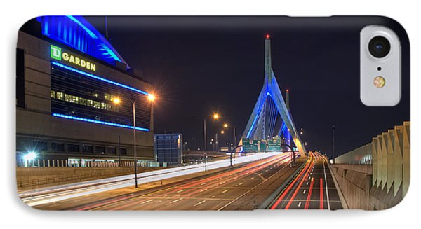 The Garden And The Zakim Phone Case by Joann Vitali