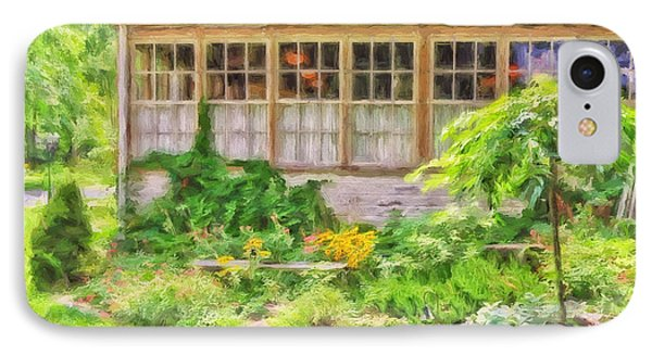 The Garden At Juniata Crossings Phone Case by Lois Bryan