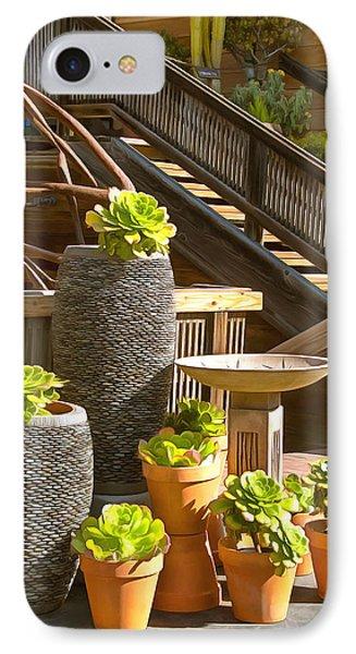 The Garden Gallery Morro Bay California IPhone Case