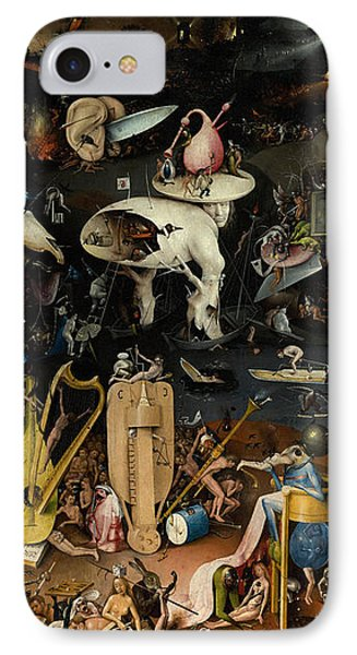 The Garden Of Earthly Delights. Right Panel IPhone Case by Hieronymus Bosch